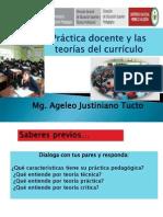 Práct Docente y Teorías Del Curriculo