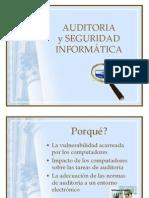 Auditoria y Seguridad Informatica INTRODUCCION