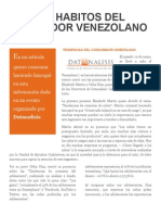 Nuevos Habitos Del Cosumidor Venezolano Por Jesus Leon