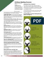 Deer General Seasons - Idaho Fish and Game
