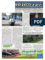 The Village Reporter - September 3rd, 2014