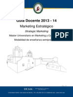 2013-2014-Master Marketing Marketing Estrategico