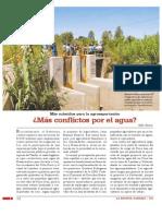 Más subsidios para la agroexportación ¿Más conflictos por el agua?