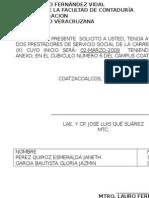 Ejemplo Del Lena Do Documentos