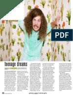 Blake Anderson Feature by Drew Tewksbury, Nylon Guys Magazine September 2014