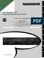 Magnavox ZV429MG9 Help Manual