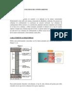 Especificaciones Tecnicas Columnas de Confinamiento