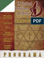 Programa 3 Culturas 2014