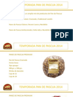 Presentación de Productos Temporada Pan de Pascua 2014
