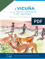 La Vicuña. Manual Para Su Conservación y Uso Sustentable CONICET
