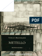 Vasco Pratolini - Metello