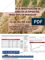 2014 AVANCES EN LA INVESTIGACIÓN DE LA FUSARIOSIS DE LA ESPIGA DEL TRIGO (FET) EN PARAGUAY.pdf