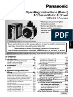 Panasonic a5 Operation Basic