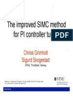 The Improved SIMC Method for PI Controller Tuning (1)