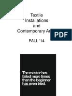 Fabric Installation V FALL '14