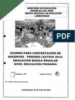 Examen Primaria 1-24