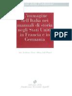 l Immagine Dell Italia Nei Manuali Di Storia Negli Stati Uniti in Francia e in Germania
