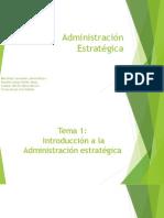 Administración Estratégica-Unidad1