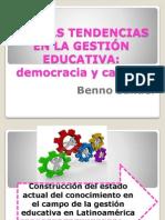 Nuevas Tendencias en La Gestión Educativa