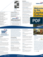 Graduate School USA Capital Gallery Welcome Brochure