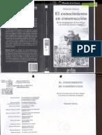Rolando Gacía, Conocimiento en Construcción (Piaget)