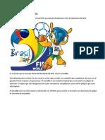 Mascota Del Mundial de Brasil
