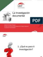 1.LaInvestigacionDocumental