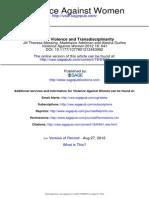 Gender Violence and Transdisciplinaritydf