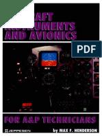 Aircraft Instruments and Avionics - Max F. Henderson