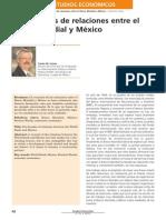 México y El Banco Mundial