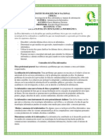 Administracion Informatica Etica y Manejo