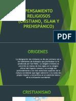 Cristianismo, Islam y Religión de Las Culturas Prehispánicas