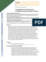 Agriscience Student Engagement in Scientific Inquiry