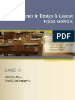 Trends in Design & Layout in Foodservice Industry