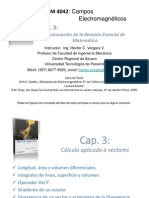 CEM4042 Cap 3 - Análisis Vectorial Sadiku-2014