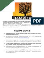 Ficha IV Icozeiro 2014