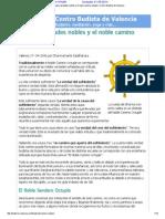 Las cuatro verdades nobles y el noble camino octuple _ Centro Budista de Valencia.pdf