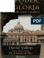 El Poder y La Gloria Por David Yallop