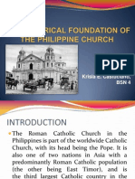 The Historical Foundation of the Philippine Church