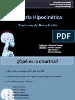 Disartria Hipocinética [Autoguardado]