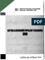 SEPS-IR-L-2013-0031 Ley de La Economía Popular y Solidaria