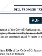 #5 O'Donnell Reorganization Amendment to Zoning