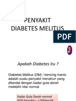 empresa apa diabetes kering