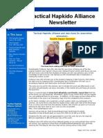 Tactical Hapkido Alliance Newsletter April 2009