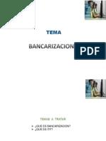 Bancarizacion e Itf