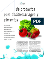 RC 295 Desinfectantes Alimentos