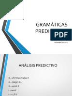 GRAMÁTICAS PREDICTIVAS