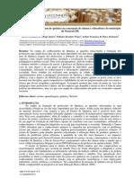 O Ensino e Aprendizagem de Química Na Concepção de Alunos e Educadores Do Município de Ouricuri-PE
