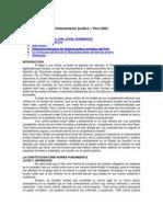 Ordenamiento Jurídico – Perú 2003
