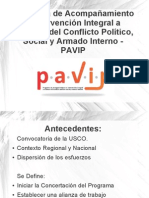 Presentación PAVIP